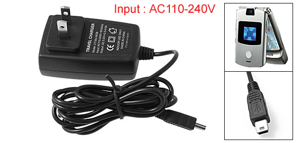 US Plug AC110-240V Black 58