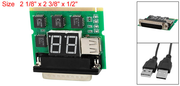 Mini PCI PC Notebook Desktop Diagnostic Card Analyzer