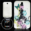 Butterfly Style Soft Plastic Cover for iPod Touch 3