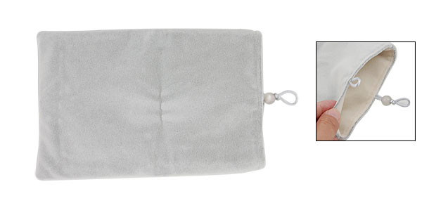 Gray Velvet Sleeve Bag Case for 7