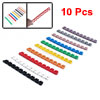 Colorful Plastic Cable Markers Wire Cord...