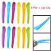 Single Prong Hair Clip Colorful Hairclip for Hairdresser