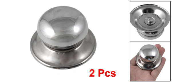 Universal Replacement Cookware Pot Glass Lid Cover Knob 2pcs