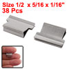 Office Stationery 38pcs Mini Metal Dispe...