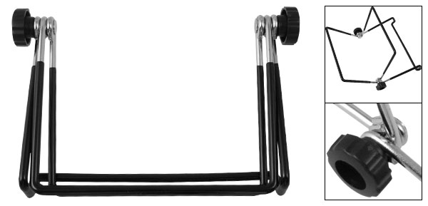 Black Metal Support Stand Dock Holder Mount for Apple iPad