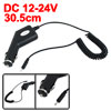 DC 12V Cigatette Lighter Flexible Black for Nokia E72
