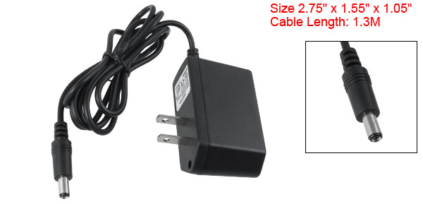 US Plug AC 100-240V Surveillance CCTV Camera DC Output 12V 1A Power Charger Adapter