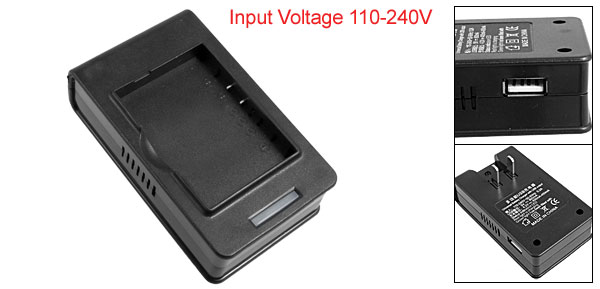 US Plug 110-240V USB Port Desktop Battery Charger for HTC Touch S1