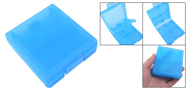 Blue Game Card Case for Nintendo DS Lite NDSi NDS