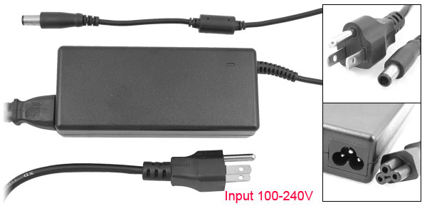 US Plug 100-240V to 19V 4.74A 7.4x5.0 AC Power Adapter for HP NC8230