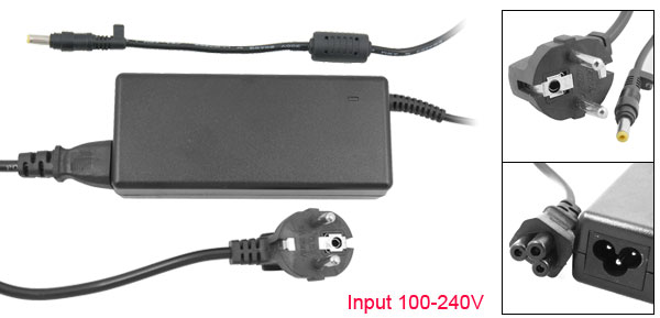 EU Plug 4.8X1.7 19V 4.74A Replacement Power Adapter for Hp N400C N410C