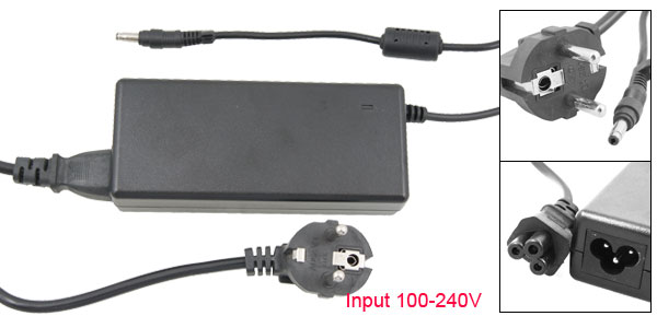 EU Plug Replacement 19V 4.74A AC Adapter for HP DV8005 DV8010