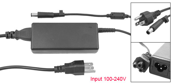 US Plug 18.5V 3.5A 7.4X5.0 Replacement Power Adapter for Hp M2401XT M2500