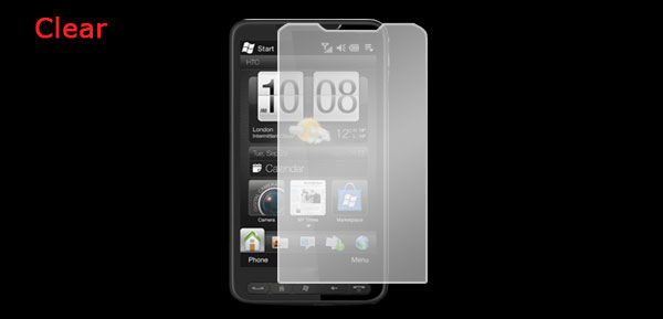 LCD Screen Protector Clear Film for HTC Touch HD2 T8588