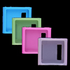 4 PCS Colors Silicone Skin Cover Case Guard for iPod Nano 6