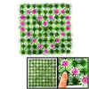 Heart Flower Square Plastic Lawn Decor for Aquariu...
