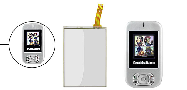 Repair Glass Lens LCD Digitizer Touch Screen Panel for Dopod 818 828