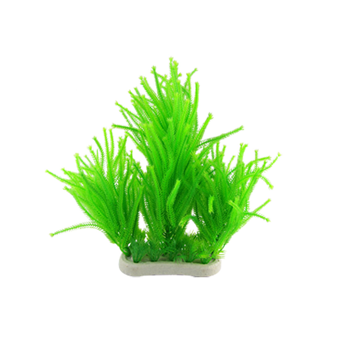 Green-Plastic-Fish-Tank-Plant-Aquarium-Grass-Ornaments