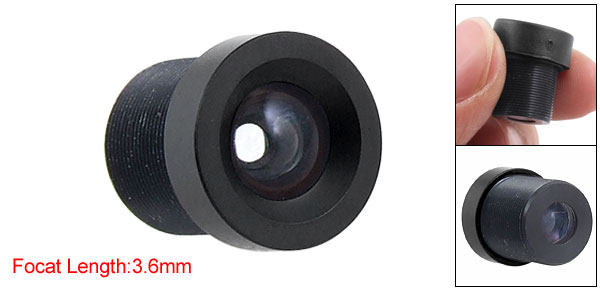 3.6mm 92 Degree Wide Angle CCTV Camera IR Board Lens Focal for 1/3