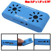 Mini 5Pin USB Power Blue TF Card Laptop PC Digital Speakers