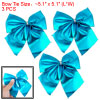 Terylene Fabric 3 pcs Blue Bowtie Decorating Packing Kit for X'ma...