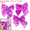 Terylene Fabric 3 pcs Purple Bowtie Decorating Packing Kit for X'...
