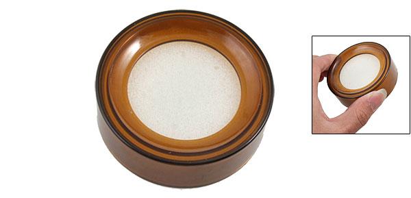 Coffee Plastic Round Design Sponge Money Casher Finger Wet