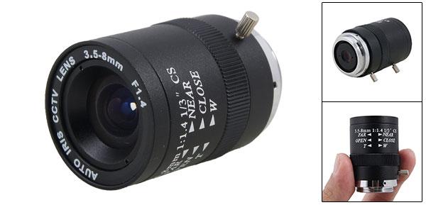 CCTV Camera Replacement F1.4 Monofocal Manual Iris Lens