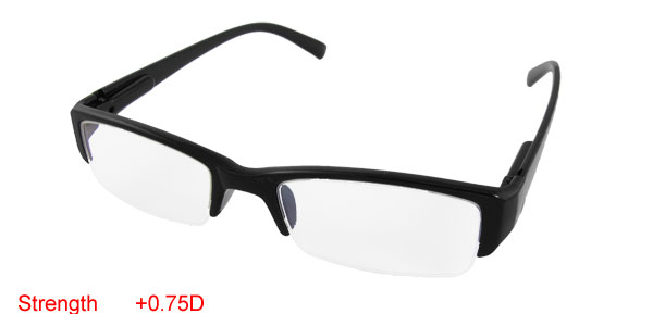 Elders +0.75D Reading Black Presbyopic Eyewear Glasses