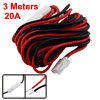 9.8ft Black Red Power Cable for Yaesu FT-7800R FT-8900R