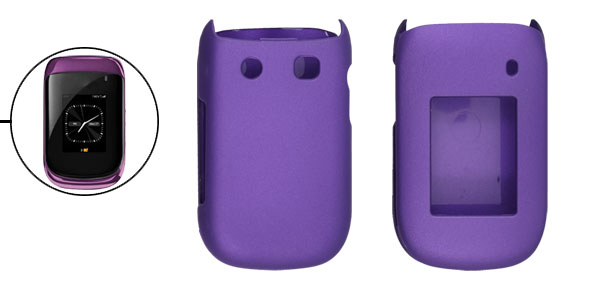 Indigo Rubberized Case Hard Cover for BlackBerry 9670