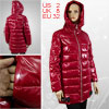 Ladies Padded Outerwear Wadded Quilted Coat XS