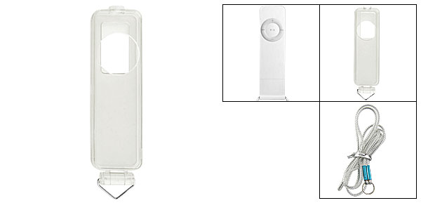 Clear Hard Plastic Case Cover for iPod Shuffle 1G Gen