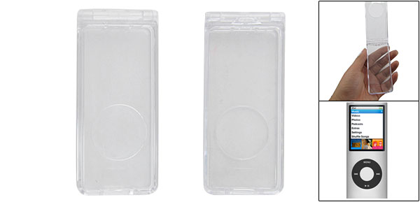 Crystal Clear Hard Plastic Case Protector for iPod Nano 1G
