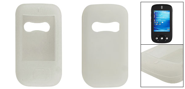 Silicone Clear White Protective Skin for Dopod 818