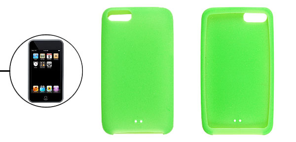 Light Green Soft Smooth Silicone Cover for iPod Touch 1G