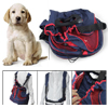 Double Shoulder Straps Handsfree Blue Red Front Pet Dog Carrier