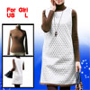 Girls Dark Brown Turtle Neck Long Sleeves Shirt w Dress US L