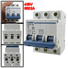 400V 6A 3P 3 Poles DIN Rail Mount Mini C...