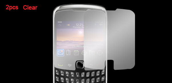 Clear Screen Protector Guard Film for Blackberry 9300