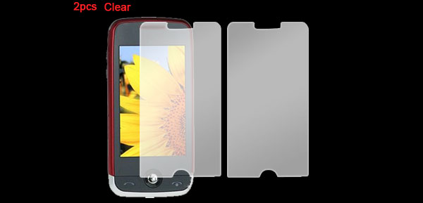 2 Pcs Replacement Clear Screen Protector for LG GS290