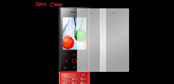 2Pcs LCD Screen Protector Guard Clear for LG BL20