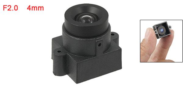 Security CCTV Camera 4mm Focal Length Board Lens w Cap