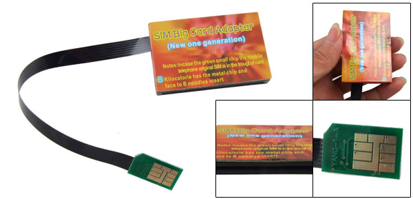GSM Flexible FPC Cable SIM Card Adapter Converter for Phone
