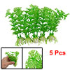 Green Plastic Hottonia Inflata Plants Aquarium Fish Tank Decorati...