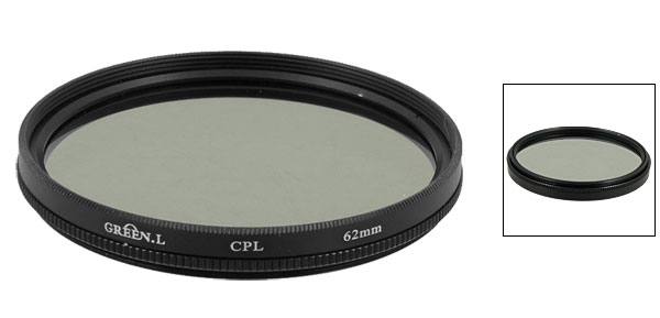 Camera Photography 62mm CPL Circular Polarized Filter