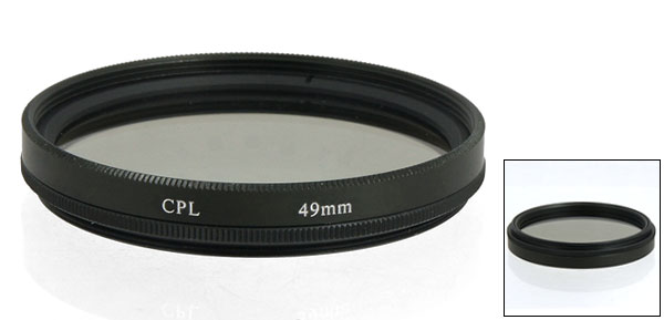 49mm Circular Polarizing Filter for Camera HD Camcorder