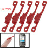 Replacement 5 Pcs Dark Red Plastic On/Off Power Button for Nokia ...