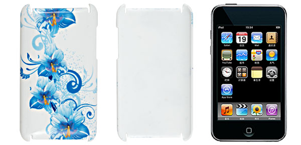 Hard Plastic Back Case Cover White for iPod Touch 2G