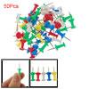 Five Color Plastic Head Metal Pin Thumbt...